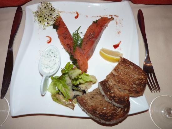 La Coupole : saumon fumé... délicieux...