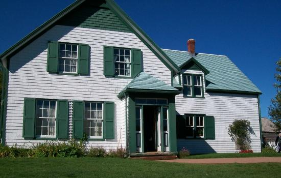 L.M. Montgomery's Cavendish National Historic Site of Canada: Front of home