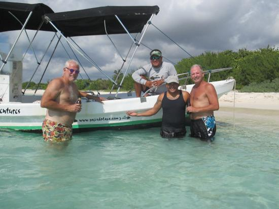 Go Fish! Fishing Charters & Adventure Tours: After snorkeling beers...