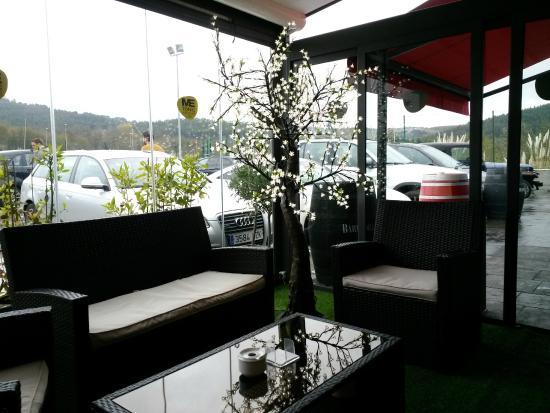 Restaurante Asador Taskas: terraza comedor