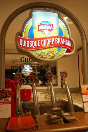 Quiosque Chopp Brahma