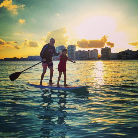 Stand Up Paddle Cancun