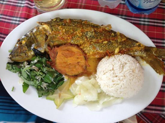Lanbousier: Рыба гриль
