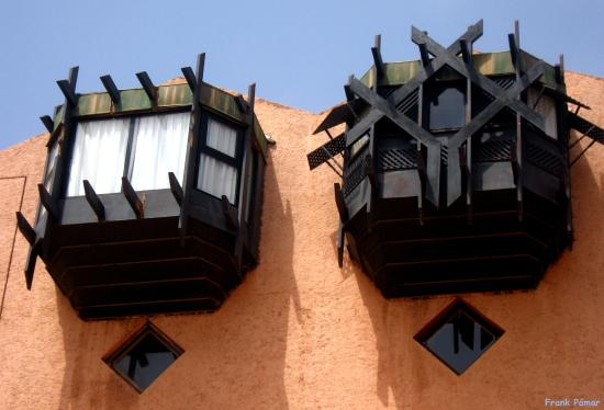 Hotel des Almadies: Ventanas de las habitaciones