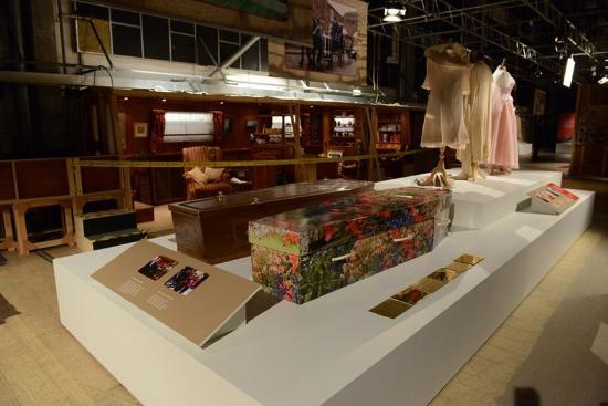 Coronation Street The Tour: Hayley's Coffin