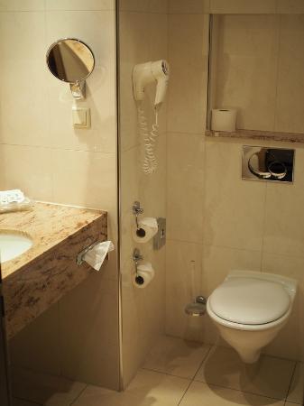 Holiday Inn Nurnberg City Centre: Bath in room 216