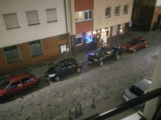 Holiday Inn Nurnberg City Centre: View from room 216