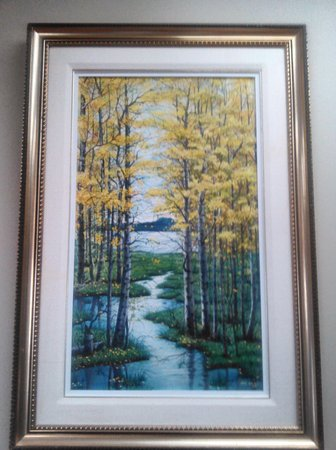 Canadian landscape painting by John