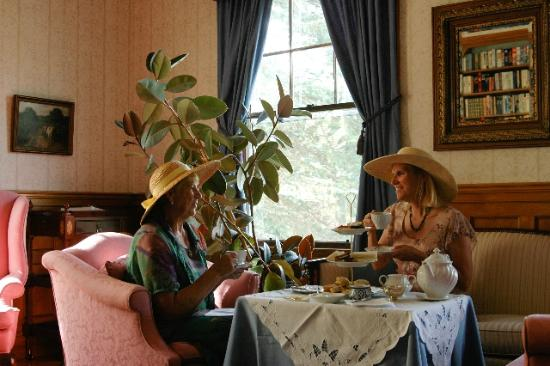 Tea at the Governor's House