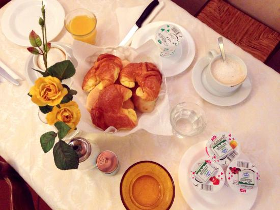 HOTEL LORENA: just part of the breakfast available. there were lots of other choices