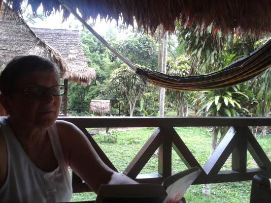 Tambopata Ecolodge: View from Bungalow