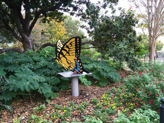 Butterfly Lego Exhibit Picture Of San Antonio Botanical Garden San Antonio Tripadvisor
