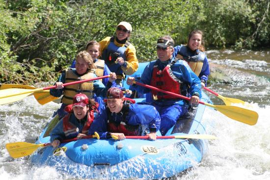 Three Rivers Resort: Daily Raft Trips in Summer