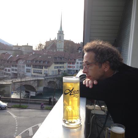 Hotel Landhaus: Balcony-beer
