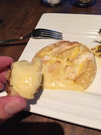 Hot camembert