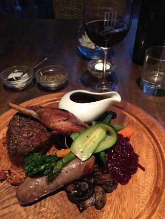 Ake Ake Vineyard Restaurant: Meat plate