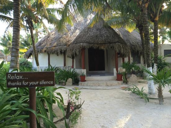 Maya Tulum Retreat & Resort : Relax into the meditation/yoga room