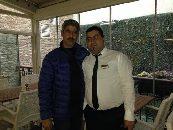 "Nowy Efendi Hotel ""Special Class"": my photo with Mr. Nadim"