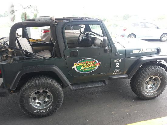 Jungle Jeep Adventure: My jeep for tour