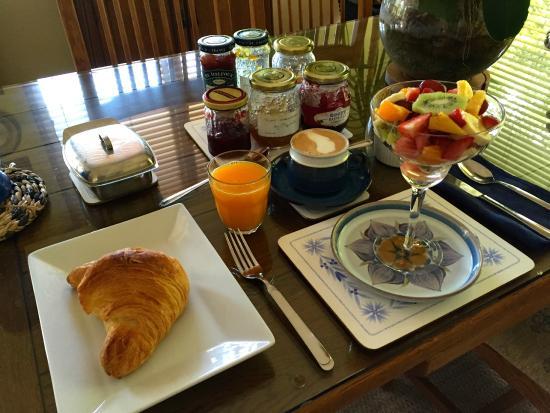 88 Lodge Luxury Bed and Breakfast: Petit déjeuner