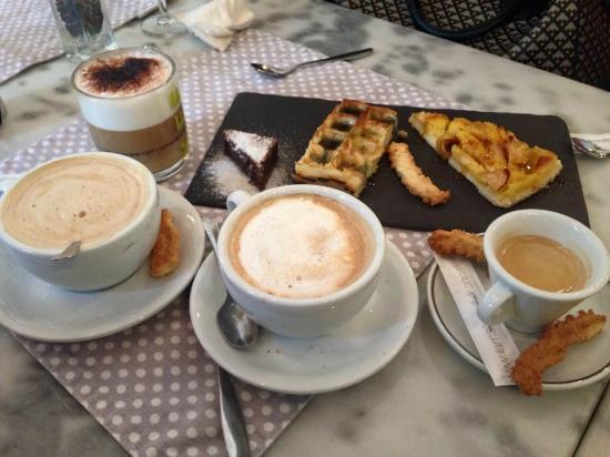 Cannelle Aurore et Michel : Cafés gourmands