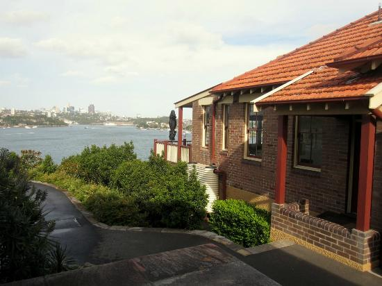 Cockatoo Island Heritage Houses: View from outside 23A
