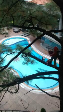 Krystal Satelite Maria Barbara: La piscina