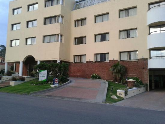 La Foret : frontis del hotel