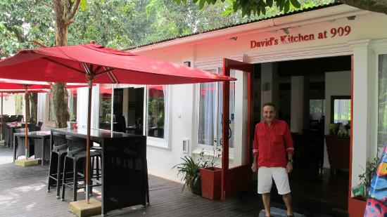 David at his door picture of david 39 s kitchen chiang mai for J kitchen chiang mai