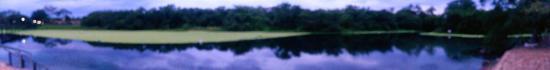Lagoa Santa, GO: Visao geral da Lagoa