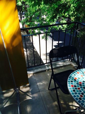 Querido B&B : Vista da nossa querida varanda.