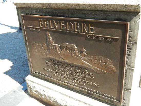 Belvedere Castle : Entrance