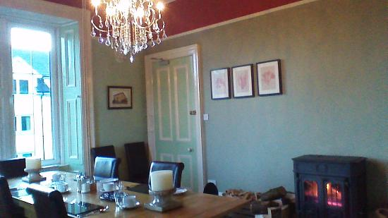 The Old Bank : Cosy Breakfast Room