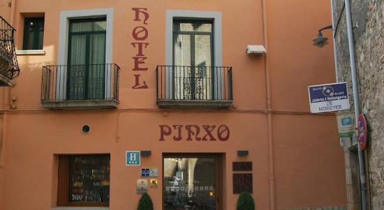 Hotel Pinxo: Fachada del hotel