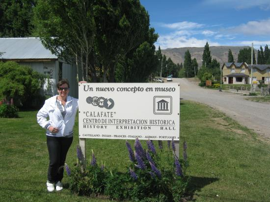 El Calafate Historical Interpretation Center : en la puerta