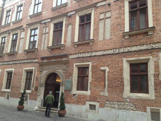 Hotel Copernicus: Street entrance