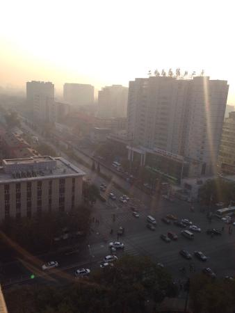 Jingshi Building: View from hotel room