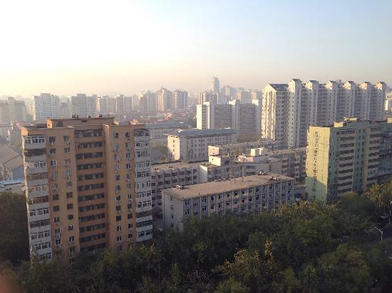 Jingshi Building: View from the room