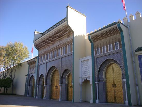 Royal Palace of Fez (Dar el Makhzen) : Detalhe da Fachada do Palácio Real