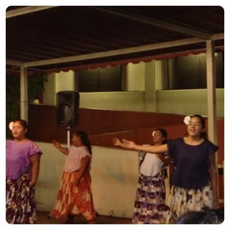 チャモロビレッジ, チャモロダンスの女性