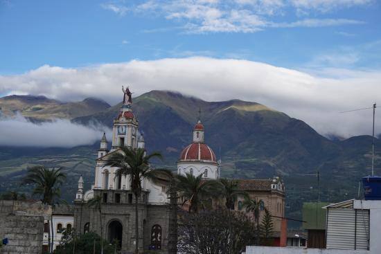 La Cuadra Hotel: View from the top of La Cuadra Hostel