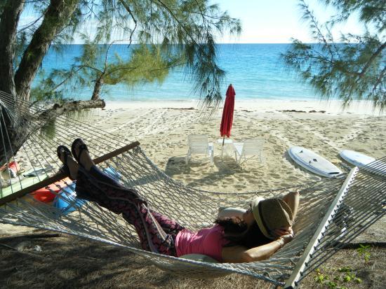 Pigeon Cay Beach Club: Hammock nap