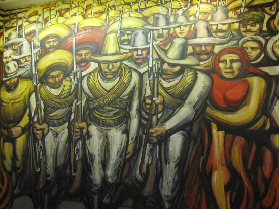 Siqueiros murales images galleries for Mural revolucion mexicana