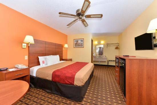 Econo Lodge Midtown: Standard King Bedroom