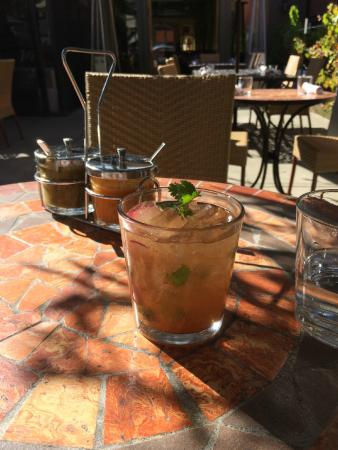 Mateo's Cocina Latina : Love this spicy margarita