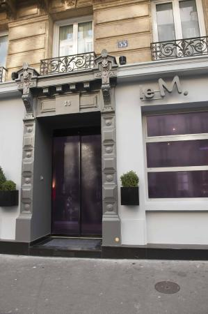 Moderne St-Germain Hotel: Entrance