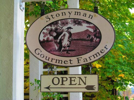 Washington, فيرجينيا: Stonyman sign