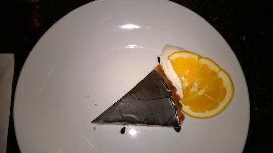 Cafe Vino: Chocolate ganache tart