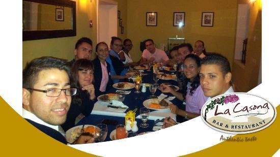 La Casona  Bar & Restaurante: Visit Us
