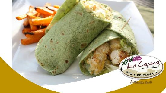 La Casona  Bar & Restaurante: Wraps